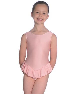 Roch Valley NF100 Lycra Sleeveless Frilled Leotard
